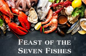 FEAST OF THE SEVEN FISHES in Harmons' Den @ HARMONS' DEN Bistro at HART | Waynesville | North Carolina | United States
