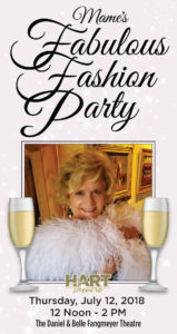 Mame's Fabulous Fashion Party- July 12